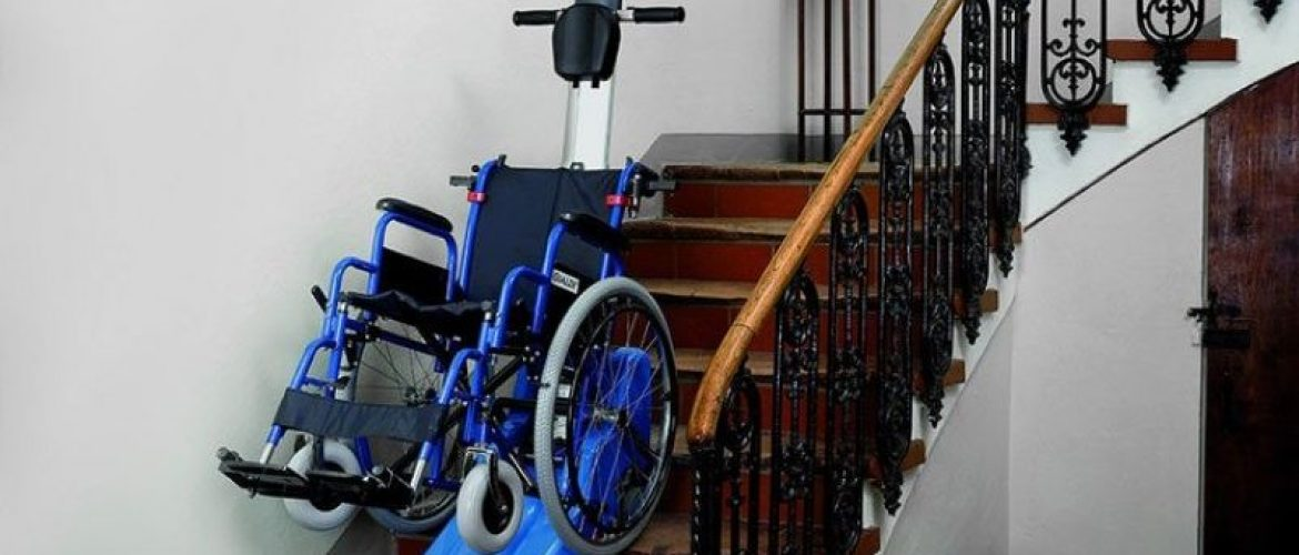 Silla salvaescaleras manual