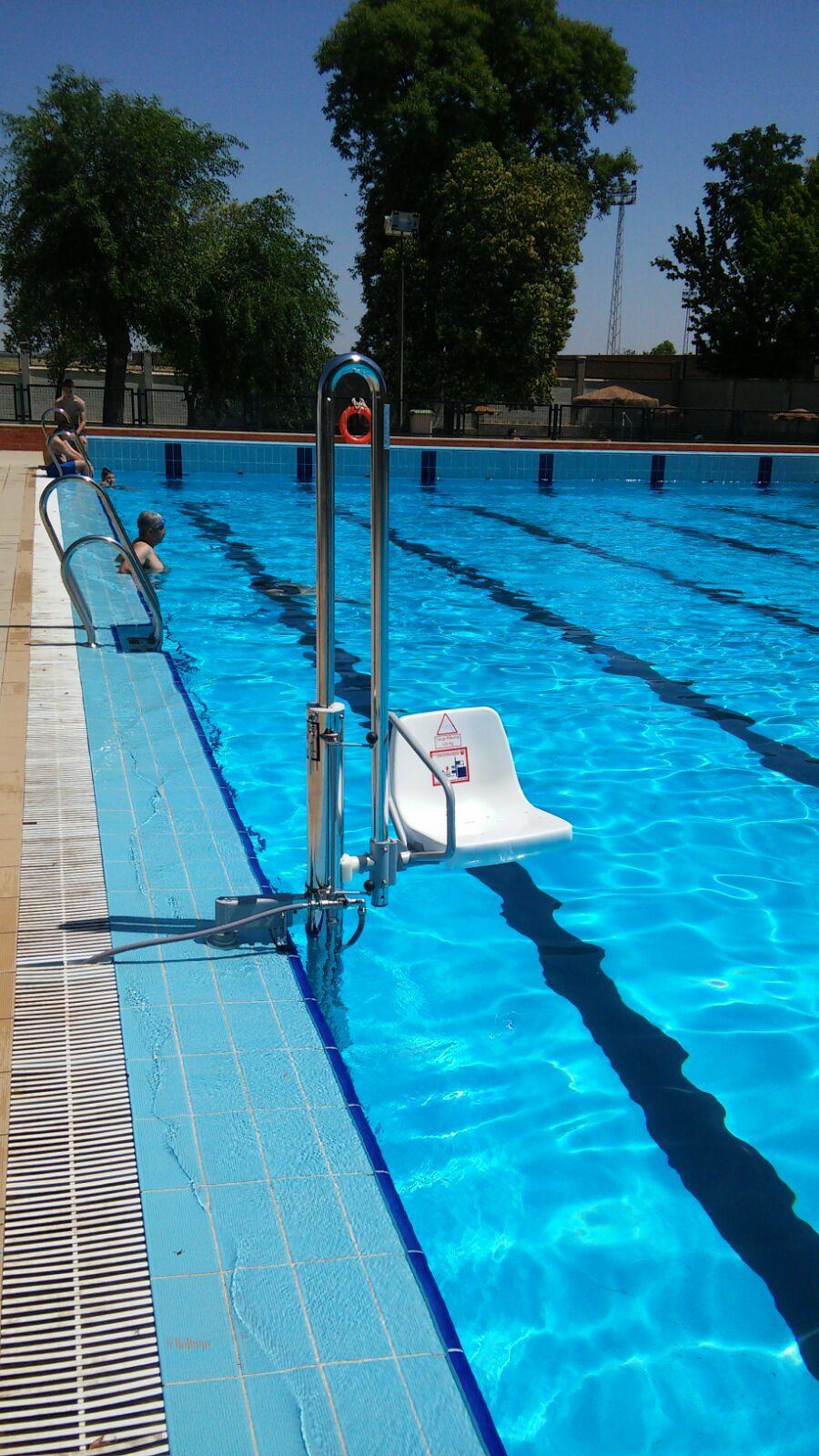 Grúa de piscina AQ-LIFT PK