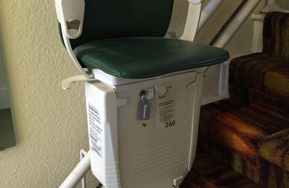 silla eléctrica escaleras