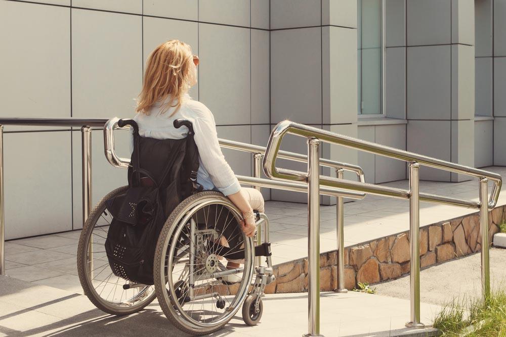 Rampa para sillas de ruedas